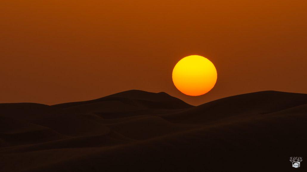 al razeen desert sunrise