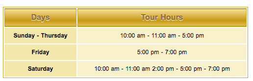 sheikh zayed mosque visiting timings