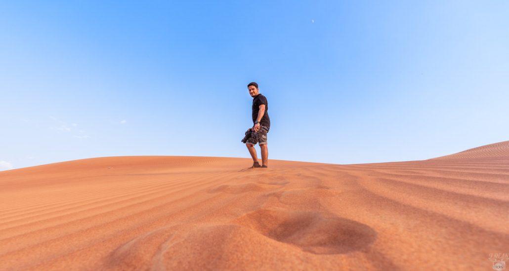 Red Sand Desert abu dhabi